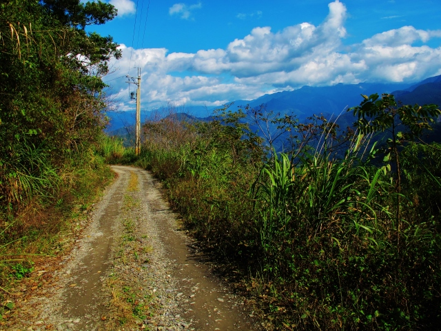 Trail at Tengjhih, December 21st.