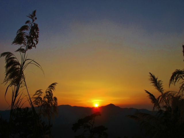 Sunset at Doi Lang.