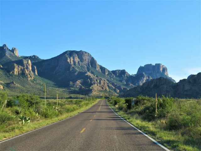 Chisos Basin Approach