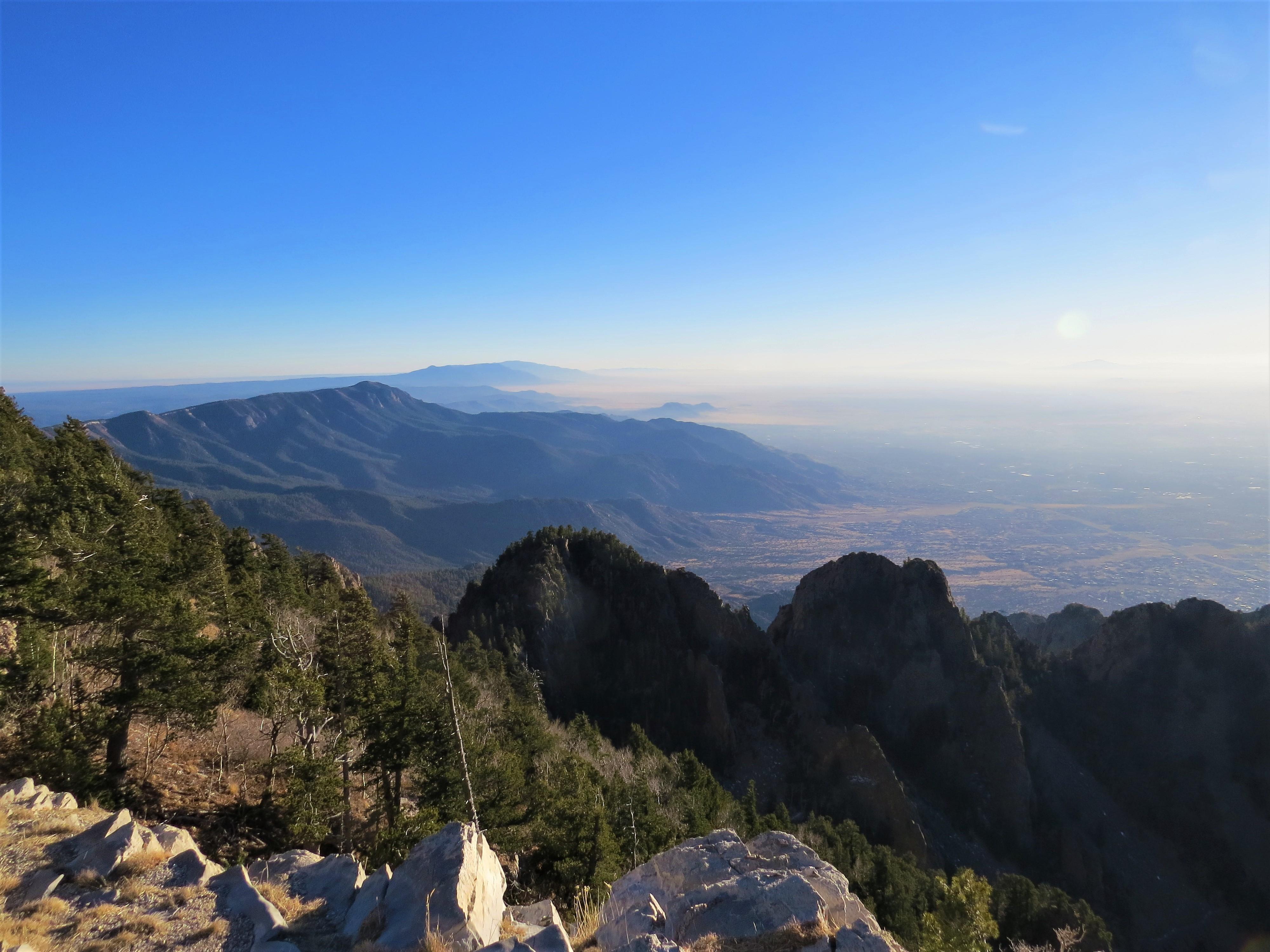 Sandia Mountains Views