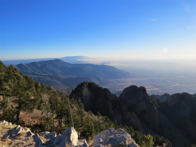 Sandia Mountains Views